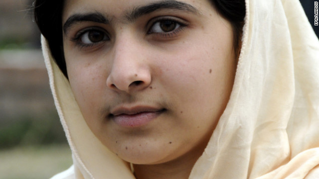 Brown: Malala a symbol for girls' rights