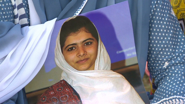 Thousands rally for Malala