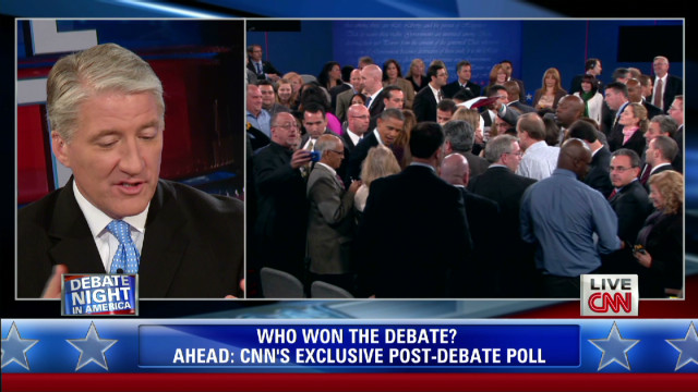 Who won? John King, Gloria Borger debate
