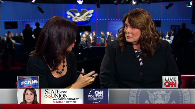CNN's Candy Crowley on moderating debate