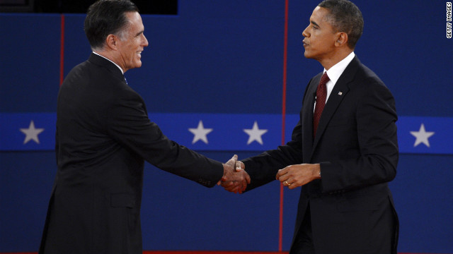 Obama, Romney spar over issues