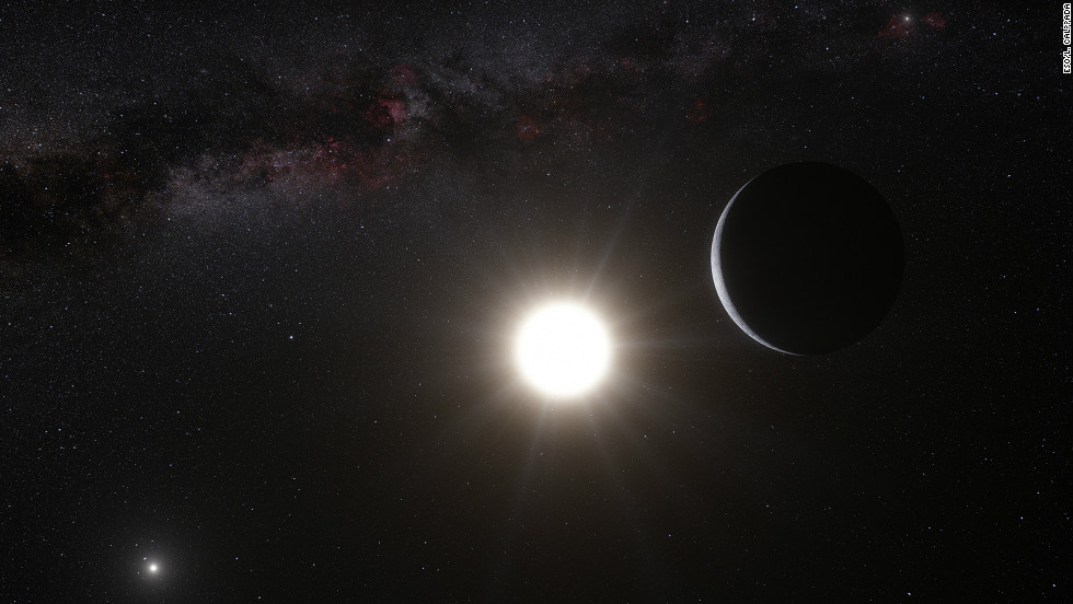 Astronomers identified the closest known planet to Earth outside our solar system. It is 4 light-years away and orbits a star called Alpha Centauri B.