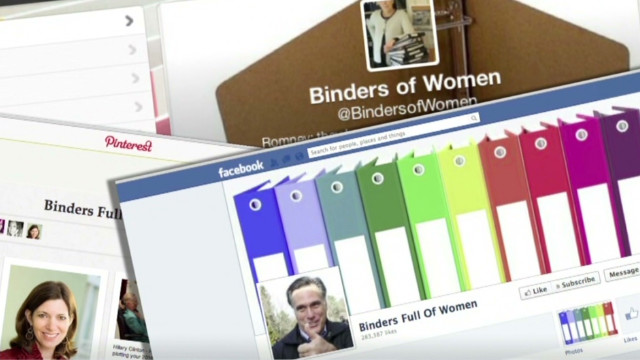 The story of Romney's 'binders of women'