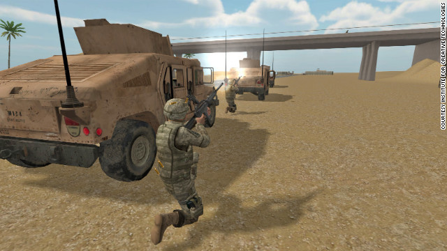 Virtual Iraq (and Afghanistan) are based on exposure therapy, which has been effective in the treatment of PTSD.