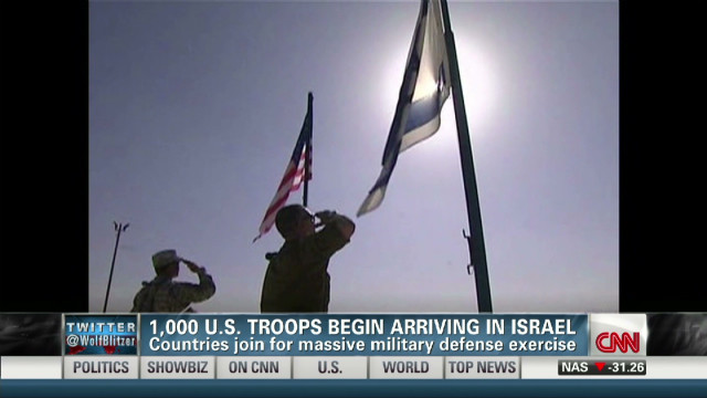 Thousands of US troops arrive in Israel
