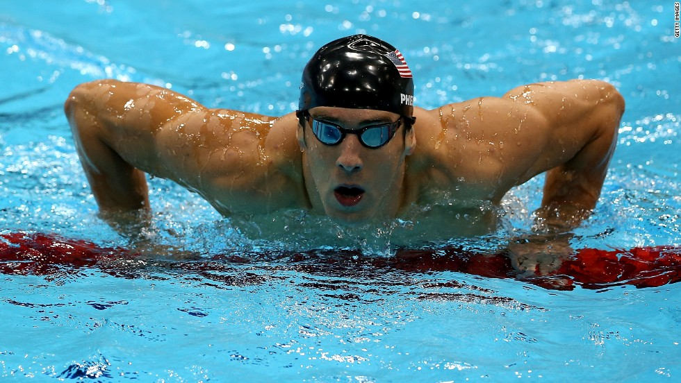 "In need of some body inspiration (or eye candy)? Men's Health magazine has identified the ""<a href=""http://www.menshealth.com/fitness/fittest-men-ever"" target=""_blank"">100 Fittest Men of All Time</a>."" Here are the top 10, starting with swimmer Michael Phelps. At 27, the Olympian has a record 22 medals."