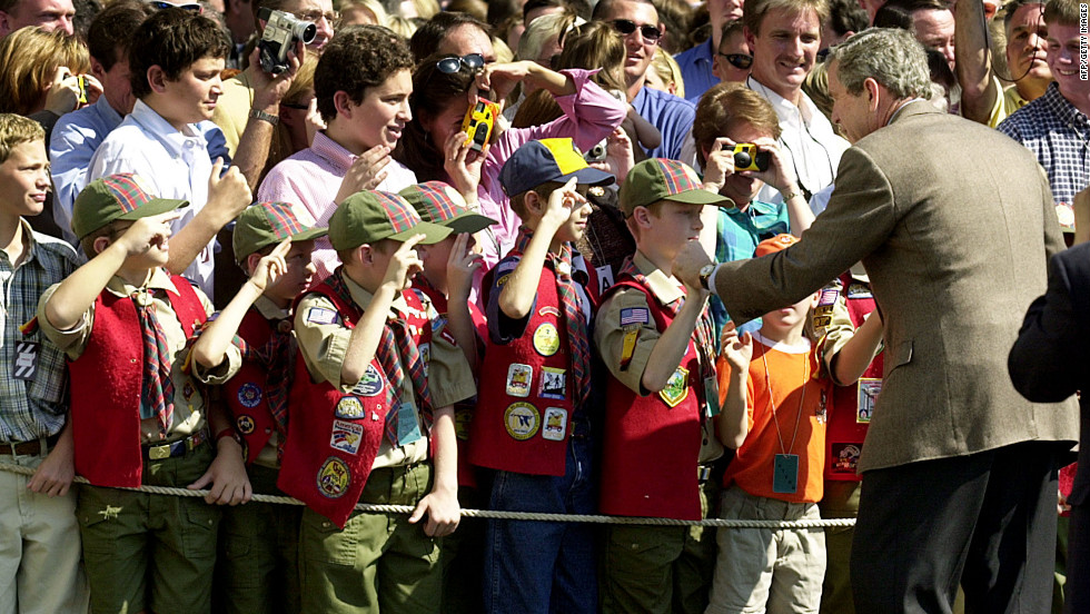 BOY SCOUTS OF AMERICA GAY POLICY