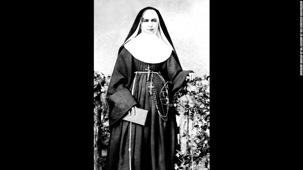 "In 1883 Mother Marianne Cope and five other sisters volunteered to travel to Hawaii to work with people afflicted with Hansen's disease.  The disease, then known as leprosy, was so feared they were the only religious congregation to respond to a request for help.  Mother Marianne wrote ""I am not afraid of any disease."" To this day none of the sisters has gotten sick."
