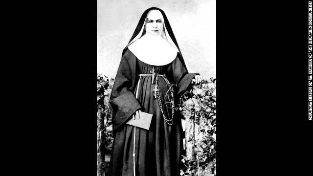 "In 1883 Mother Marianne Cope and five other sisters volunteered to travel to Hawaii to work with people afflicted with Hansen's disease.  The disease, then known as leprosy, was so feared they were the only religious congregation to respond to a request for help.  Mother Marianne wrote ""I am not afraid of any disease."" To this day none of the sisters have gotten sick."