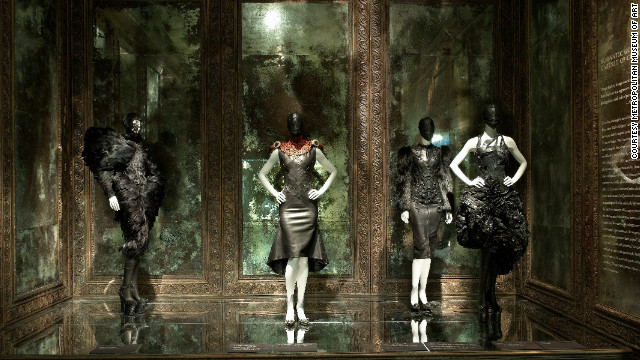 "A display from the exhibition ""Alexander McQueen: Savage Beauty,"" The Metropolitan Museum of Art,  2011."