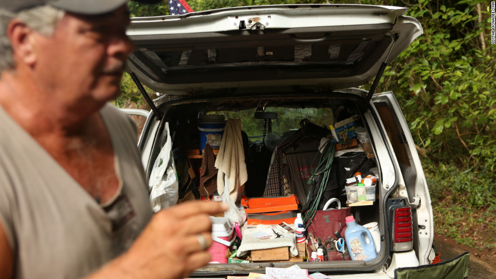 Kawika Crowley says he is running for a U.S. House seat while living in his van.