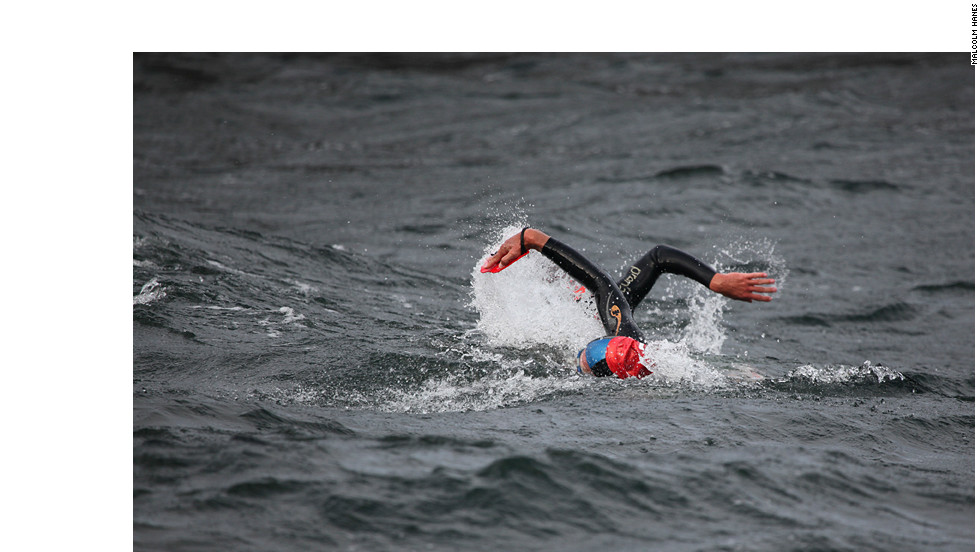 The Swedish archipelago is the setting for the Otillo, which sees teams of two swim 10km and run 54km over the course of 14 hours. The cold water is continually entered and exited and many choose to swim in their shoes, even wearing a rucksack, and run in wetsuits.