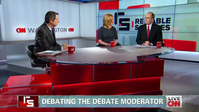 Debating the debate moderator