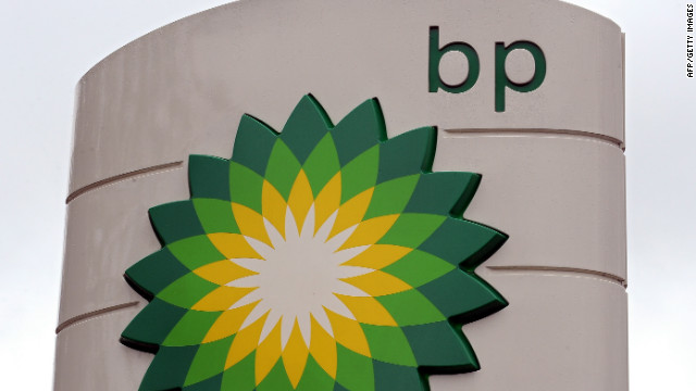 A BP petrol station logo is pictured in Manchester, north-west England, on July 27, 2010.