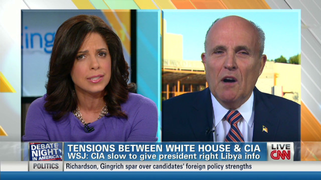 O'Brien, Giuliani spar on Benghazi