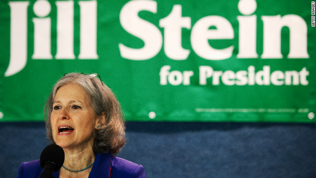 Green Party presidential  candidate Jill Stein will be among the third party candidates debating Tuesday.