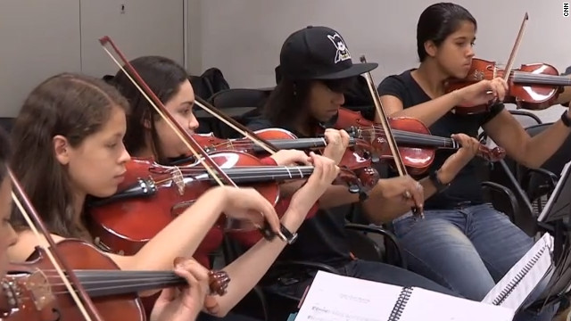 Taking classical music to Brazil's favelas