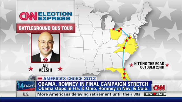 CNN Election Express tours swing states