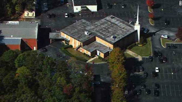 There was a shooting at the Georgia megachurch of televangelist Creflo Dollar in Atlanta Wednesday.