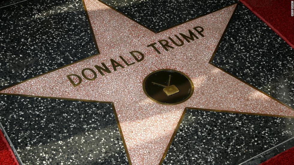 "For ""The Apprentice,"" Trump was honored with a star on the Hollywood Walk of Fame in January 2007."