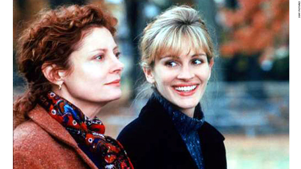 "Roberts stars opposite Susan Sarandon in 1998's ""Stepmom."" In the touching dramedy, Sarandon's Jackie isn't a huge fan of her ex-husband's new girlfriend Isabel, played by Roberts."