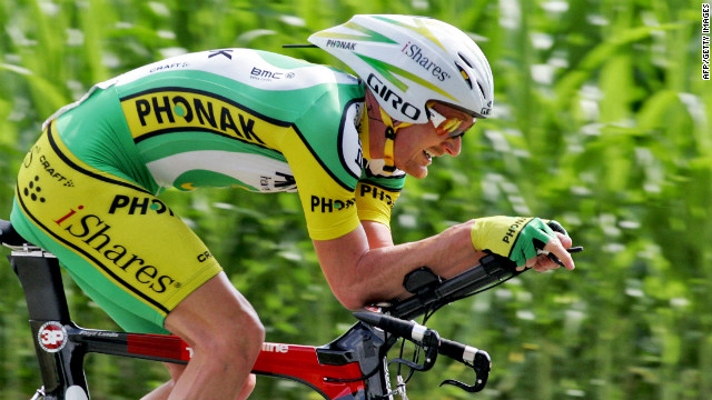 Floyd Landis won the 2006 Tour, before a positive doping test saw him stripped of the title.