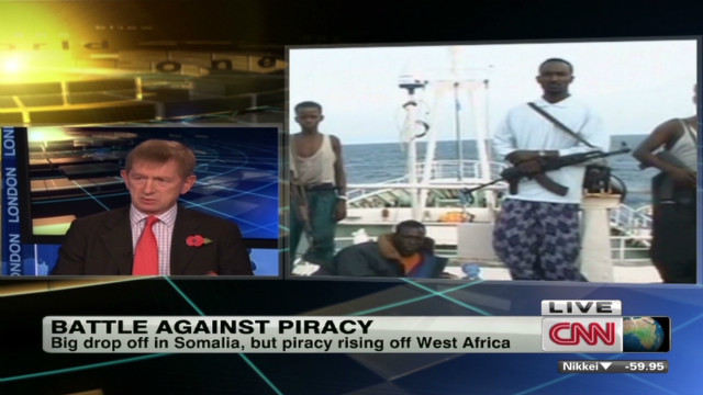 African piracy hub goes west