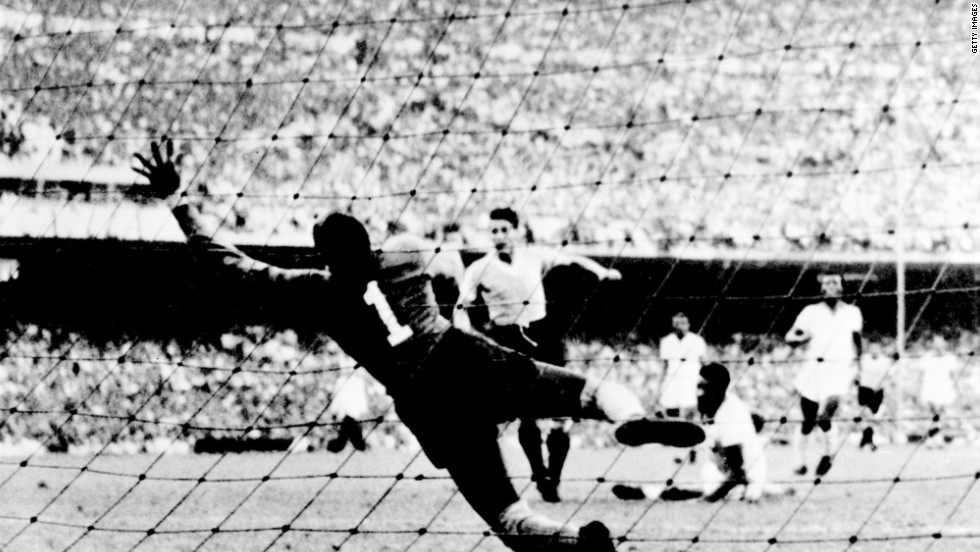 "Brazil hosted the football World Cup for the first time in 1950, with an expectant home crowd demanding the team claim the title. Everything looked to be going to plan, with a freescoring Brazil team needing just a draw against Uruguay to seal a first World Cup triumph. Despite taking the lead, Brazil ended up losing 2-1 lead -- and a country was devastated. Since then ""A Selecao"" have won the World Cup five times, more than any other nation."