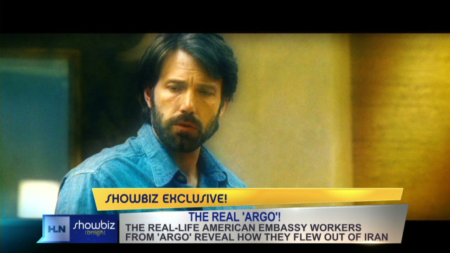 Inside 'Argo' with the real hostages