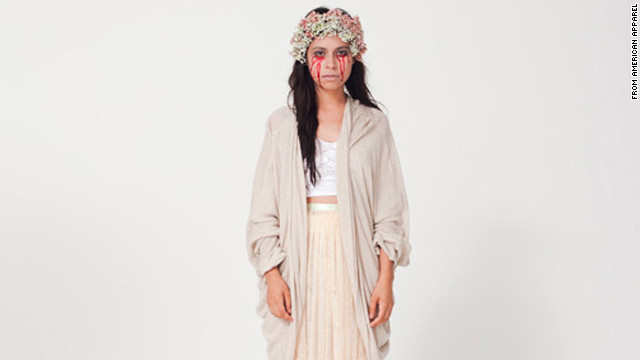 "American Apparel featured ""La Llorona"" in its DIY Halloween costume guide."