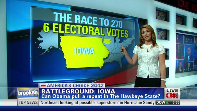 Battleground Iowa: Can Obama swing it?