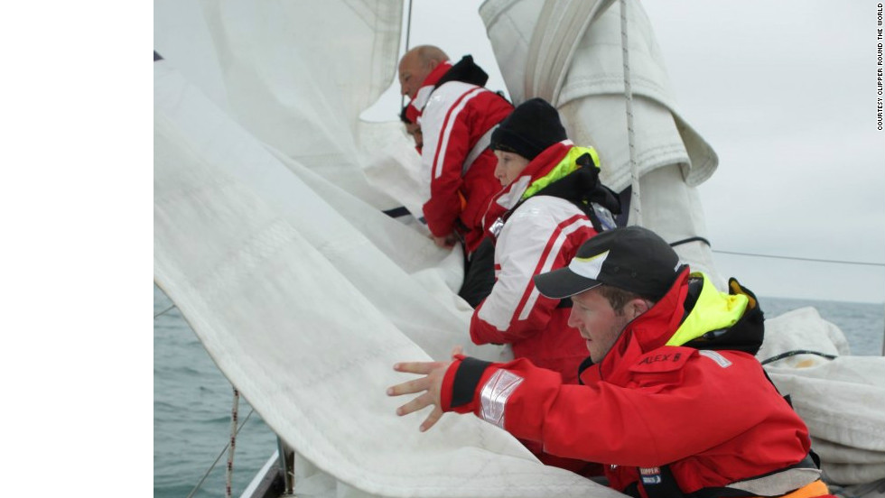 The majority of competitors have never sailed a boat in their lives. After a three-week intensive training course they're forced to quickly learn the ropes on the high seas.