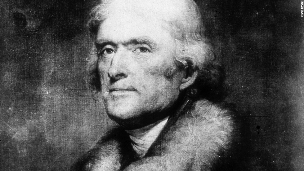 Thomas Jefferson doubled the size of the United States with the Louisiana Purchase in 1803.