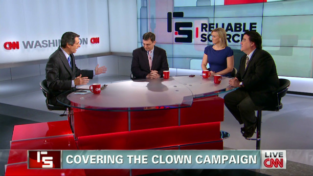 Covering the clown campaign