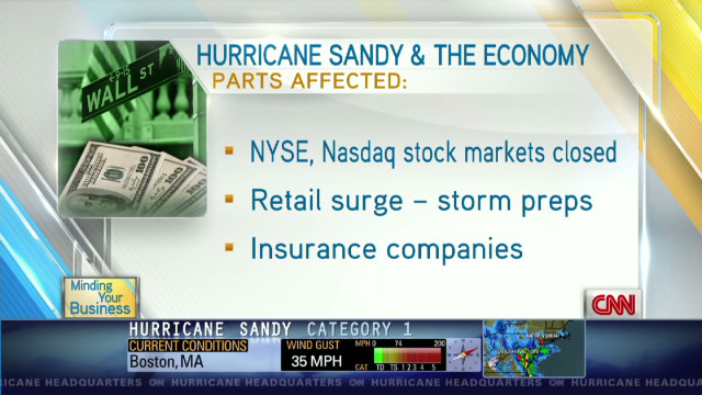 What Hurricane Sandy means for economy