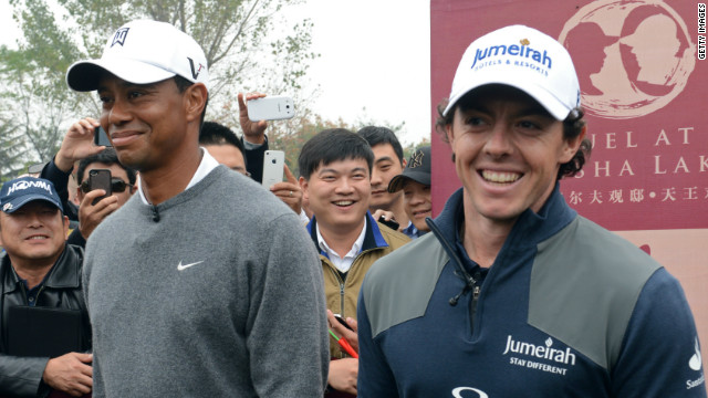 Tiger and Rory talk friendly competition
