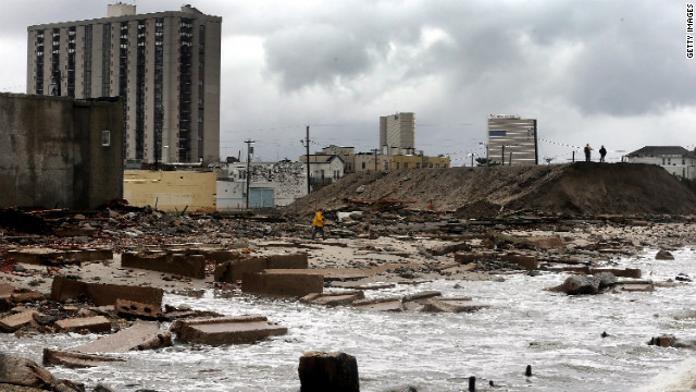 New Jersey was slammed hard. This is Atlantic City.