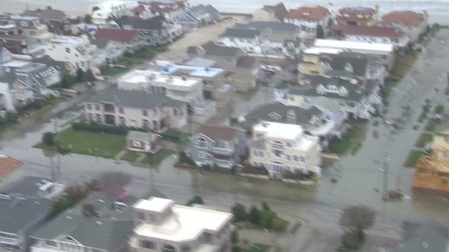 After Sandy: Aerial view of destruction