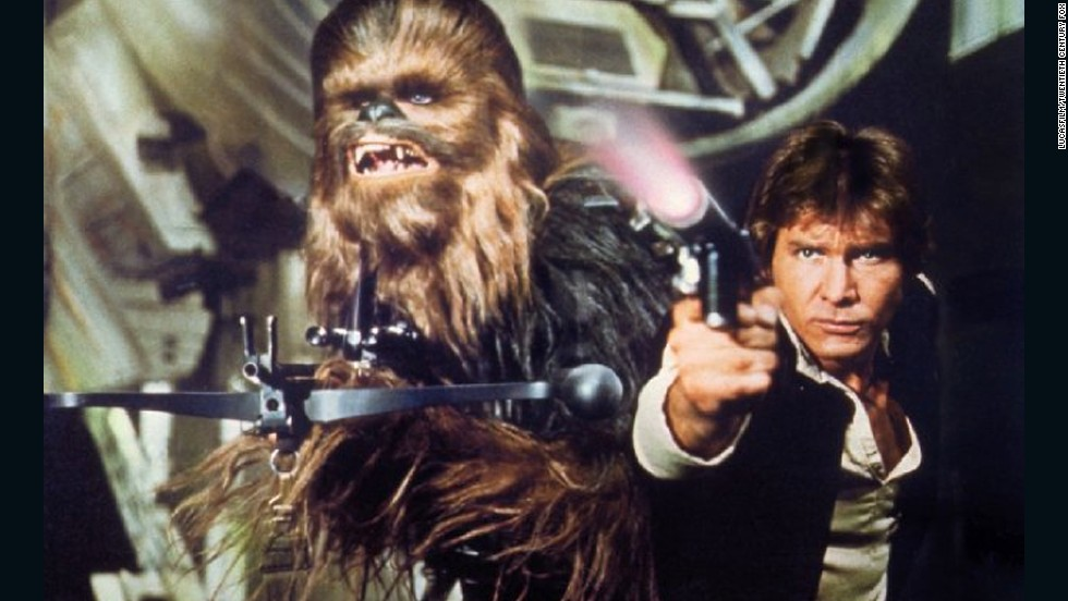 Chewbacca doesn't speak English, but Han Solo and the gang have no problem understanding the tall, furry Wookiee.