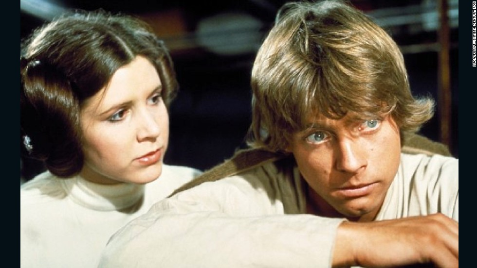Obi-Wan Kenobi trains Luke Skywalker to be a Jedi and weild a lightsaber. He's the twin brother of Princess Leia and son of Darth Vader.