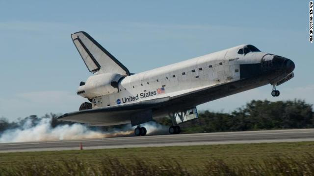 space shuttle landing in europe - photo #12