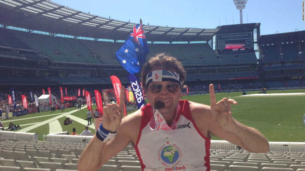 A week after his first race in Buenos Aires, Chataway was in Australia taking part in the Melbourne Marathon on October 14.