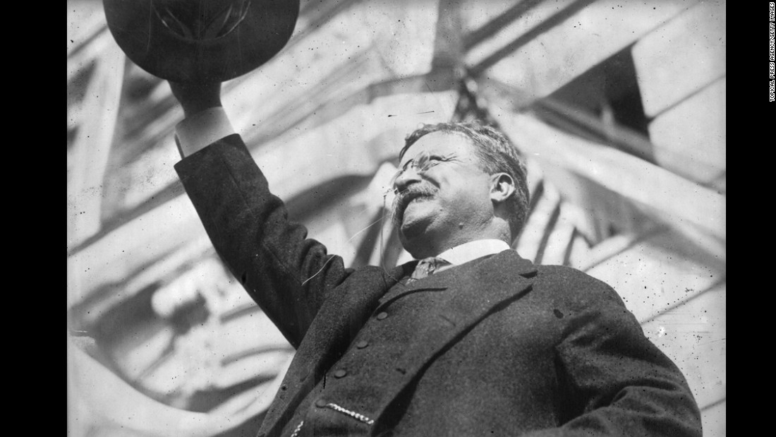 "<a href=""http://www.cnn.com/2012/08/06/opinion/avlon-teddy-roosevelt-100-years/"">Theodore Roosevelt </a>suffered from asthma and was blind in one eye as the result of a boxing injury in 1905. He was also deaf in one ear.  <a href=""http://www.ncbi.nlm.nih.gov/pubmed/16462555"" target=""_blank""> </a><br />The <a href=""http://www.ncbi.nlm.nih.gov/pubmed/16462555"" target=""_blank"">2006 study </a>by Duke psychiatrists applied today's diagnostic criteria to historical records and found Roosevelt would have been diagnosed with bipolar."