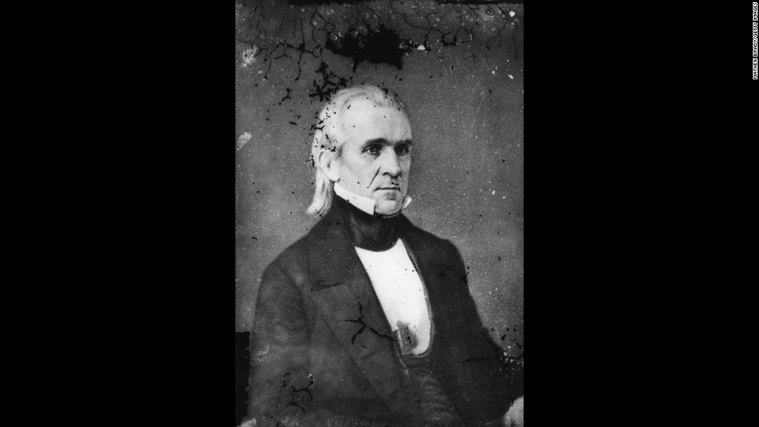 James K. Polk (1845-1849) oversaw the greatest expansion of territory of any President in history. The expansion included what would become the future states of Texas and California. Polk also negotiated with Britain to establish the boundaries of the Oregon Country.