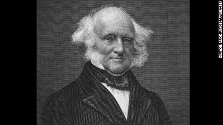 "There was no ""birther movement"" back in President Martin Van Buren's day."