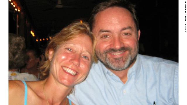 Elizabeth and Richard Everett were killed on their way home Monday night in Mendham Township, New Jersey.