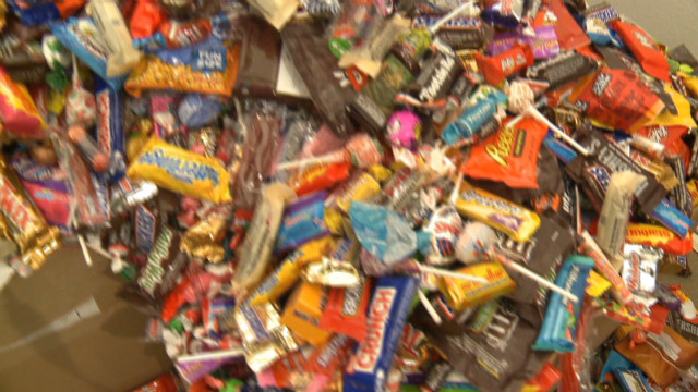 2012: Dentist buys back candy