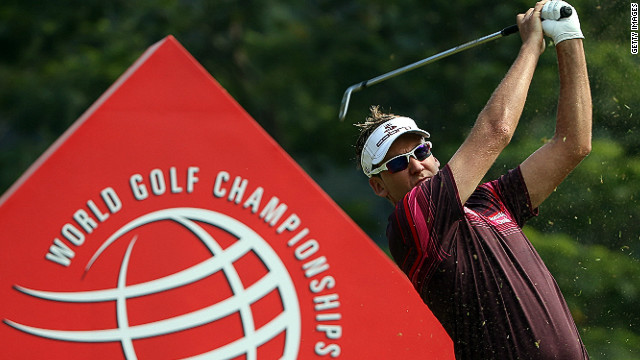Ian Poulter claimed his second WGC title with victory at the HSBC Champions in Shenzhen on Sunday.