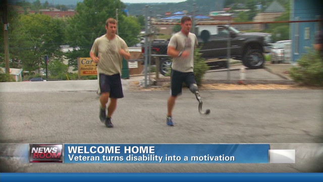 Vet turns disability into opportunity