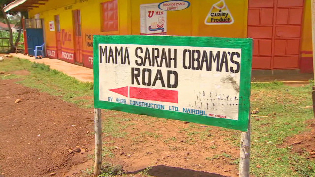 Kenyan village is Obama central